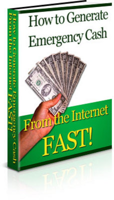 Product picture How To Generate Emergency Cash From The Internet