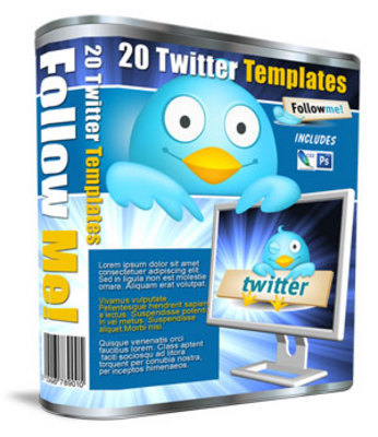 Product picture Twitter Templates - 20 Profile Background