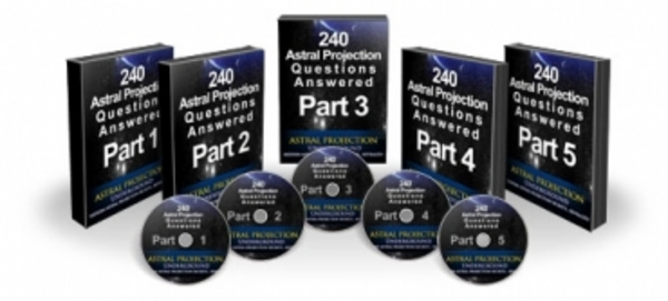 Product picture 240 Astral Projection Questions Answered