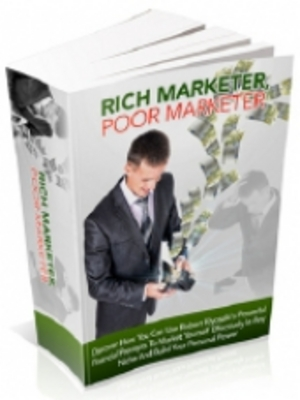 Product picture Rich Marketer - Poor Marketer