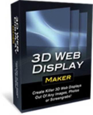 Product picture NEW! 3D Web Display Maker